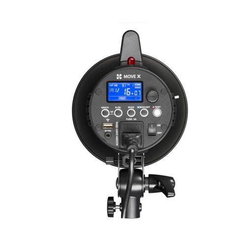 Quadralite Move X 400 zábleskové světlo 400W