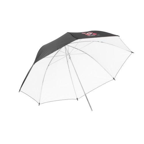 ateliérový deštník bílý 91cm Quadralite