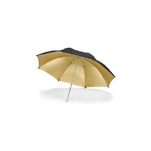 ateliérový deštník zlatý 120cm Quadralite