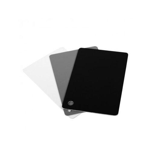 JJC přenosný set pro vyvážení bílé barvy 3v1