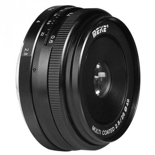 Meike MK 28mm f2,8 pro Canon M