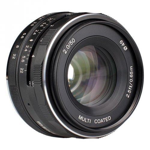 Meike MK 50mm f2,0 pro Fuji X