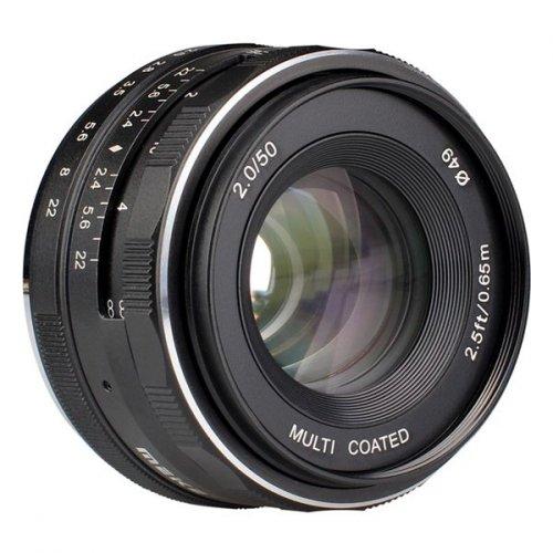 Meike MK 50mm f2,0 pro Canon M