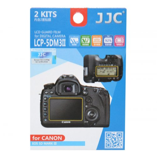 JJC ochranná folie LCD LCP-5DM3II pro Canon EOS 5D Mark III
