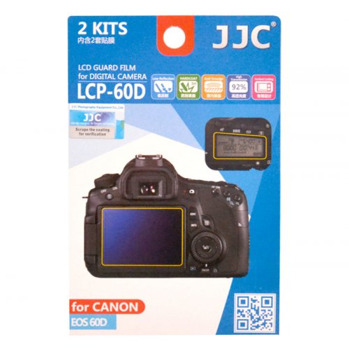 JJC ochranná folie LCD LCP-60D pro Canon EOS 60D