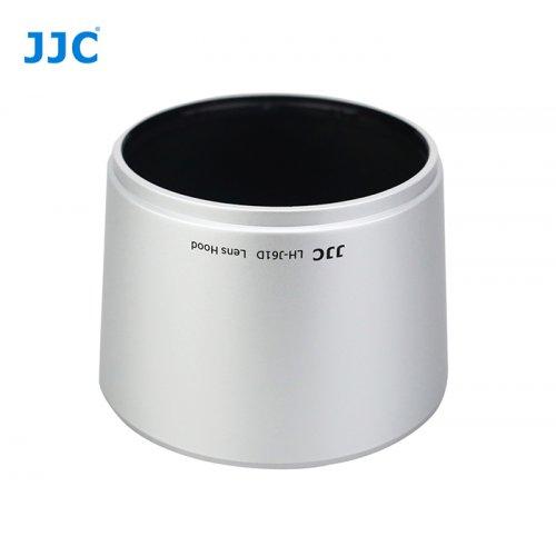 JJC sluneční clona pro Olympus LH-J61D silver