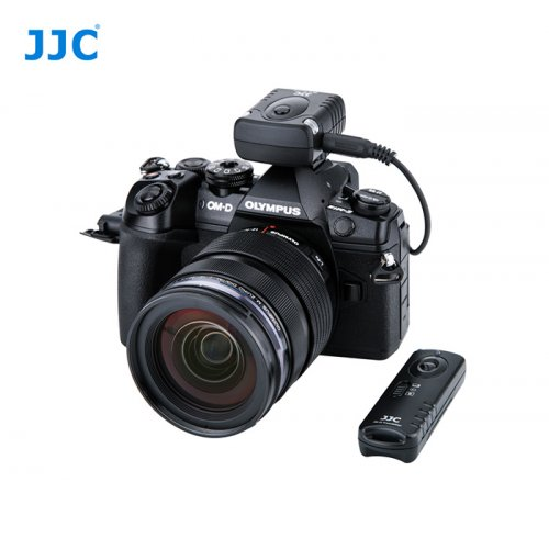 JJC radiová bezdrátová spoušť Olympus RM-CB2