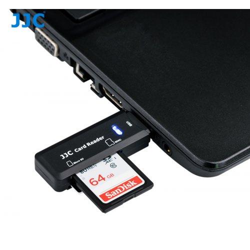 JJC čtečka SD a microSD karty USB 3.0