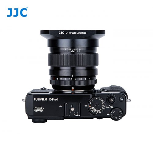JJC sluneční clona Fujifilm JXF23II černá
