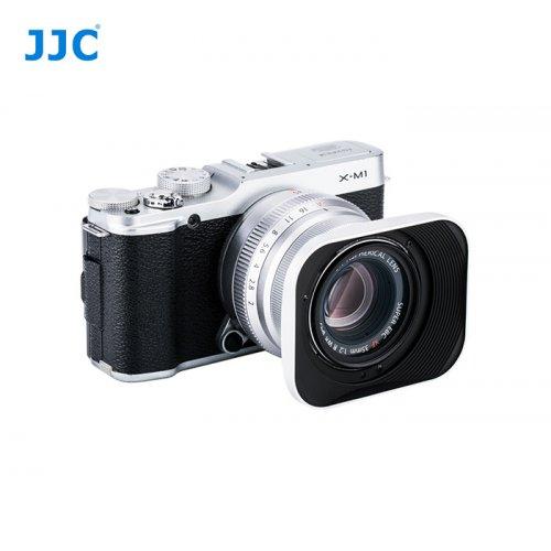 JJC sluneční clona Fujifilm JXF35S stříbrná
