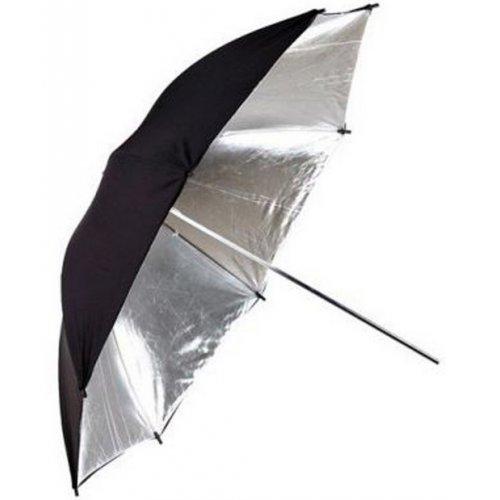 ateliérový deštník stříbrný 150cm Quadralite