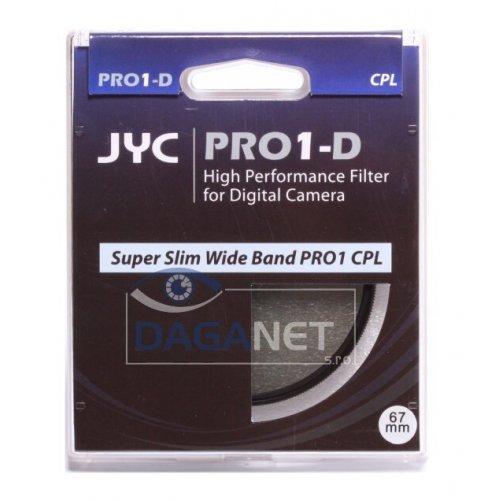 polarizační filtr JYC CPL PRO-1D ultra slim 55mm